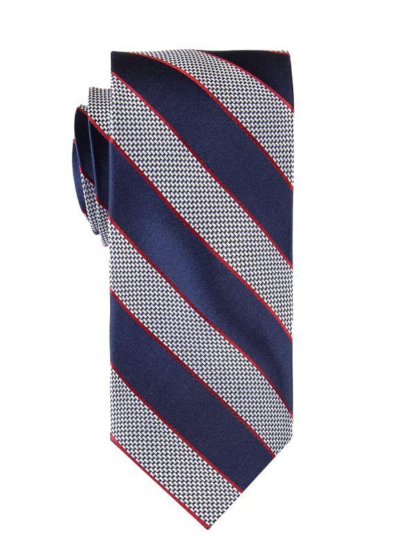 Indigo Thick-Stripe Tie