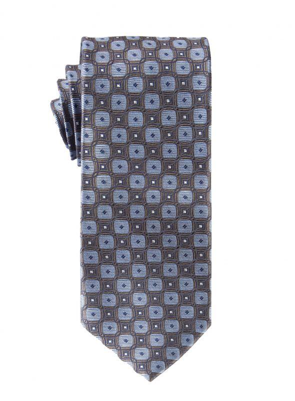 Grey Retro Ripple Tie
