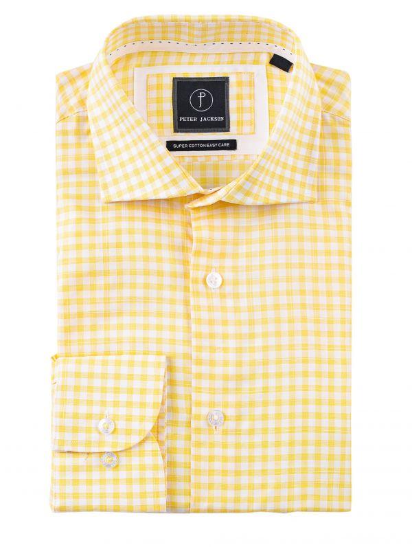 Milan Yellow Gingham