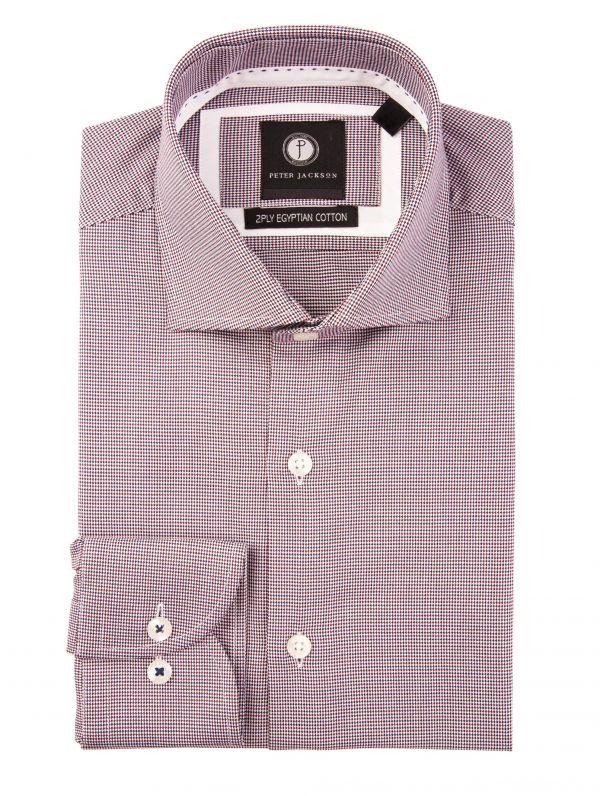 Crimson & Purple Micro Shirt