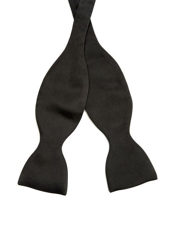 Midnight Black Bow Tie