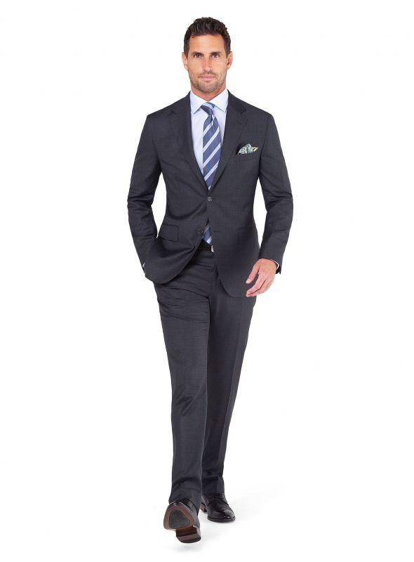 Morgan Grey Twill Weave Jacket