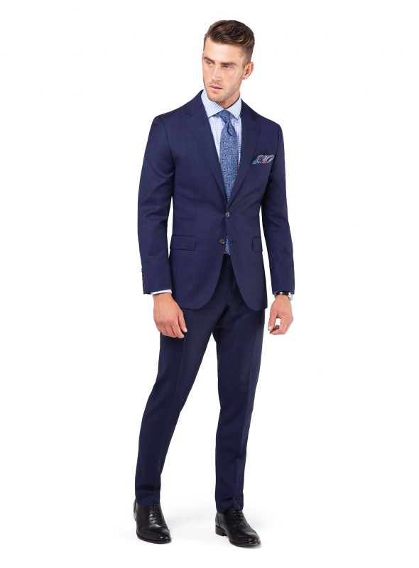 Royal Blue Glen Jacket