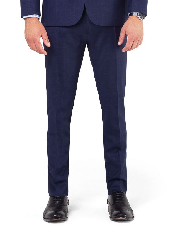 Royal Blue Glen Trousers