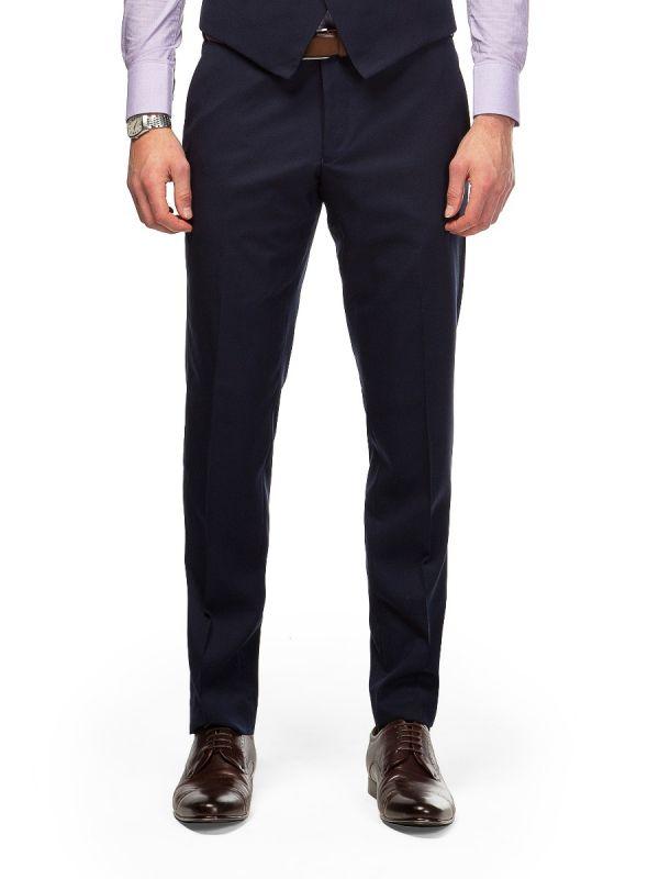 Dexter Navy Twill Trousers