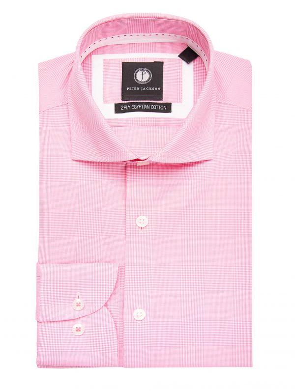 Pink Glen Plaid Shirt