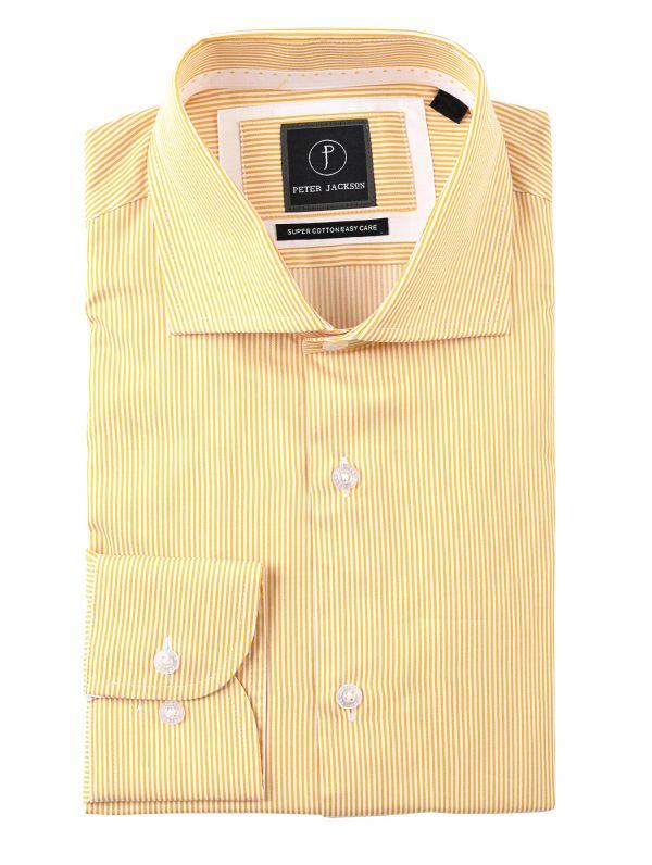 Yellow Pinstripe Shirt