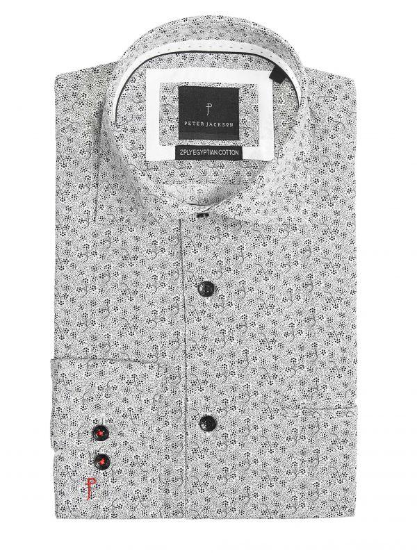 Rimini Monochrome Vine Shirt