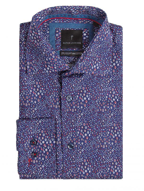 Rimini Hand-Drawn Dot Shirt
