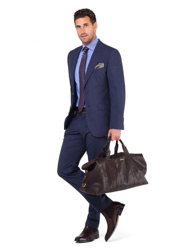 Luca Indigo Micro Suit