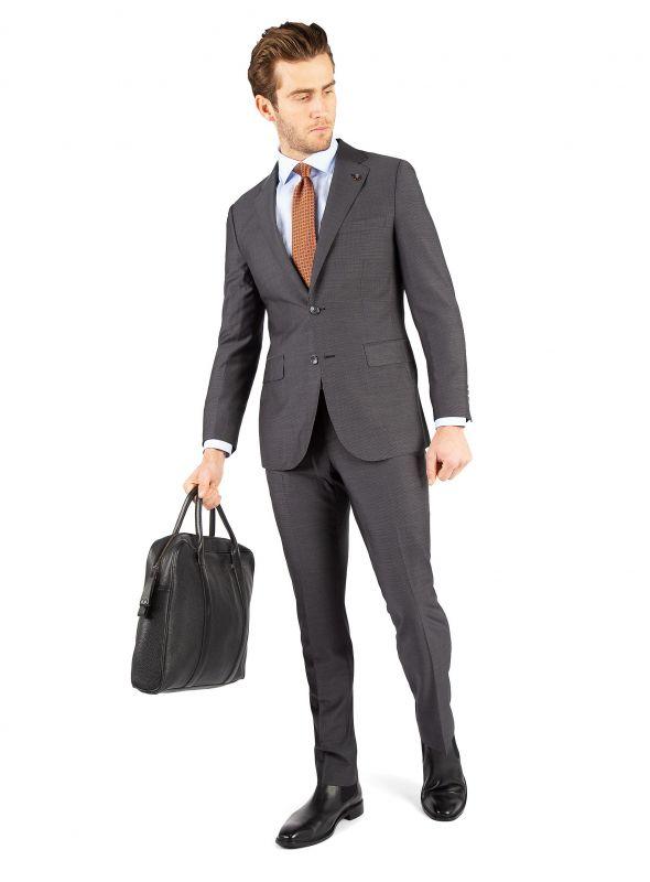 Luca Grey Micro Suit