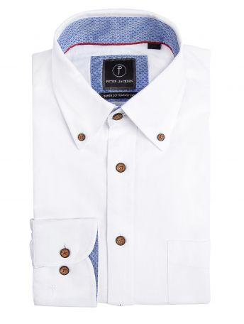 Monza White Oxford Shirt