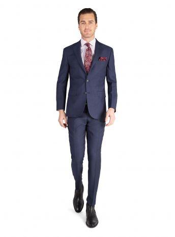 Marcello Indigo Micro Stripe Suit
