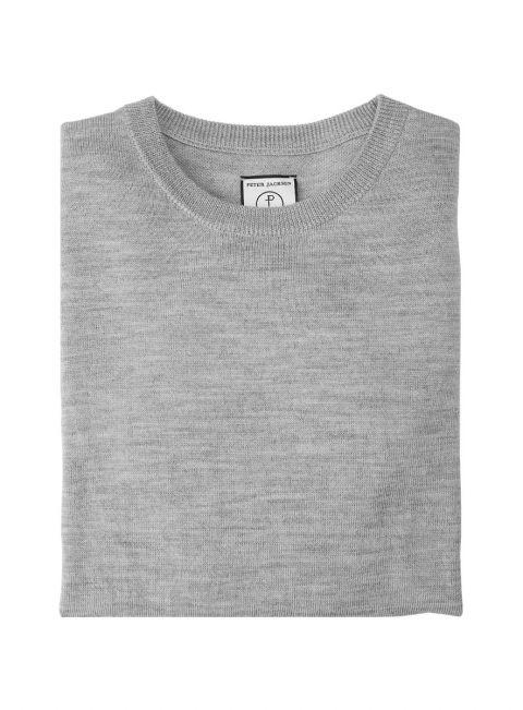 Grey Fine Gauge Knit