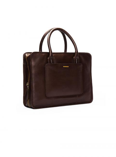 Zagato Chocolate Briefcase