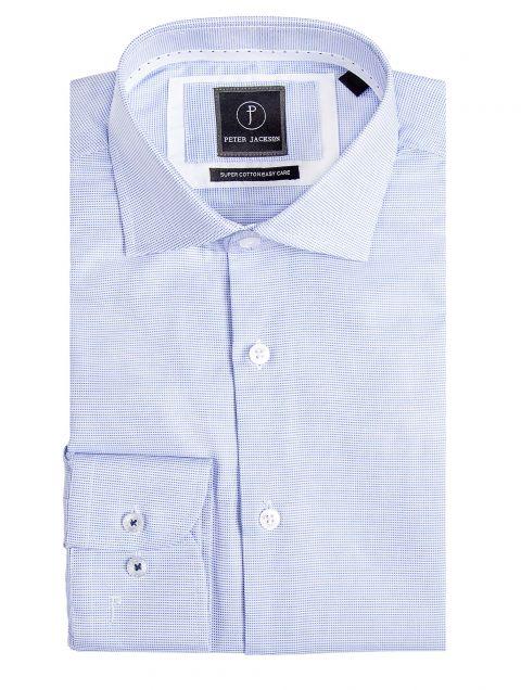 Milan Blue Micro Shirt
