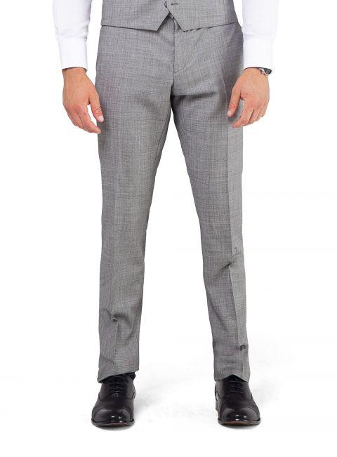 Dexter Silver Sharkskin Trouser