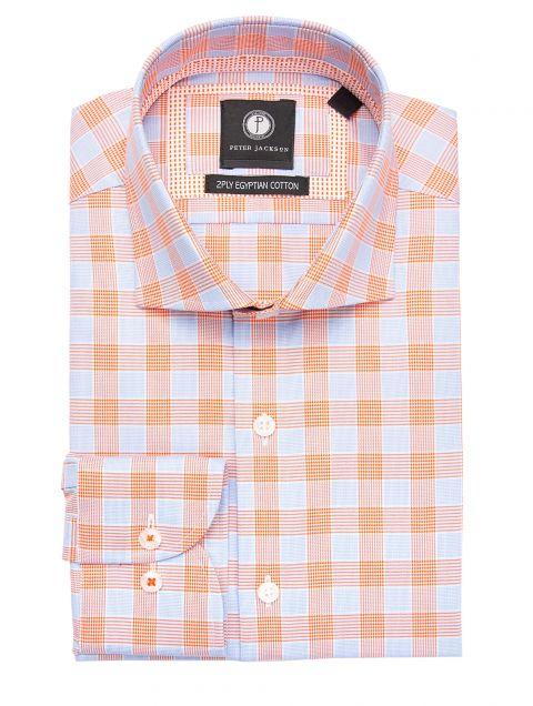 Orange Glen Plaid Shirt