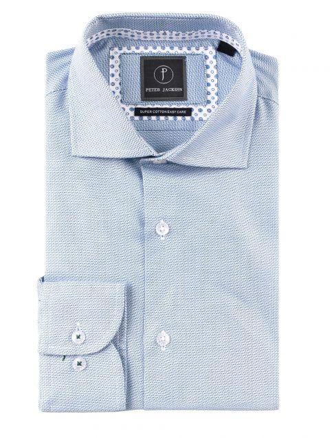 Green & Blue Stepped Shirt