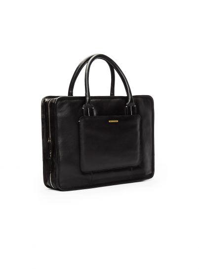 Zagato Black Briefcase