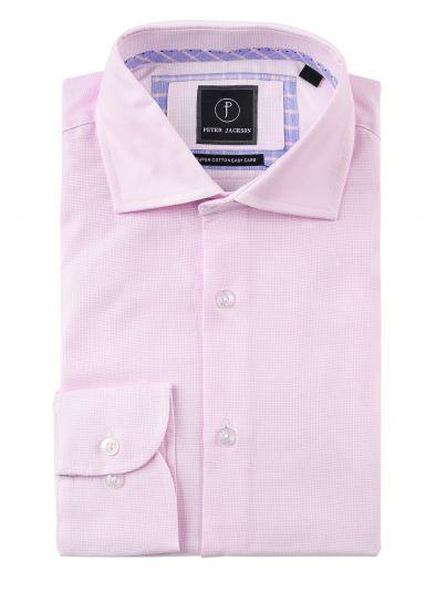 Pink Dobby Business Shirt