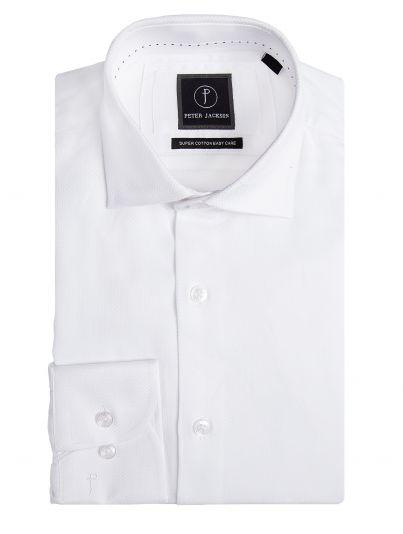 White Honeycomb Shirt