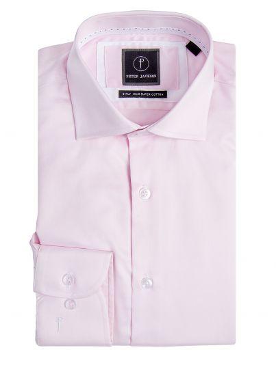Milan Pink Twill Shirt