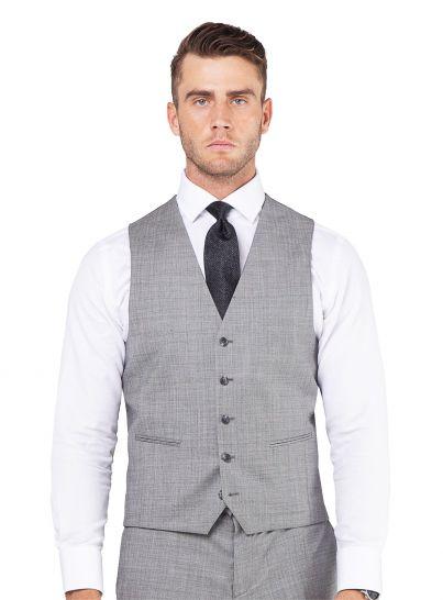 Cayman Silver Sharkskin Vest