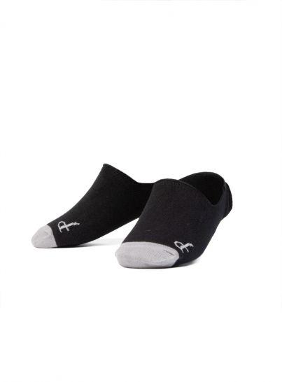 Black No-Show Sock