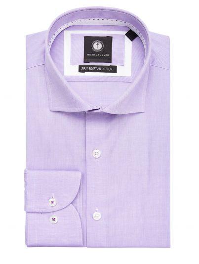 Purple Dobby Micro Shirt