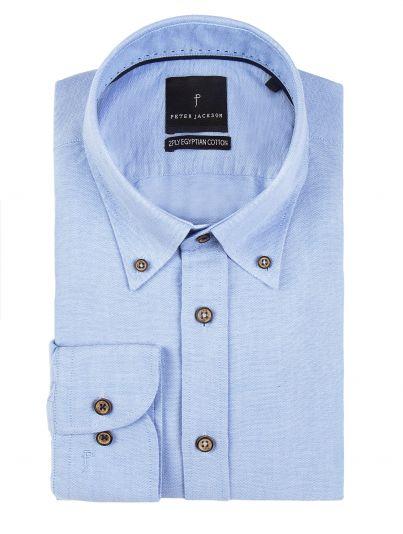 Monza Blue Oxford