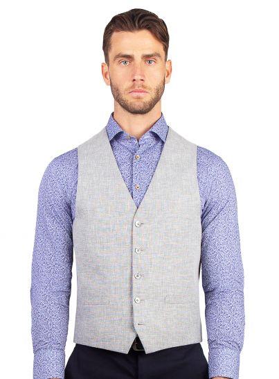 Cayman Silver Thatch Vest